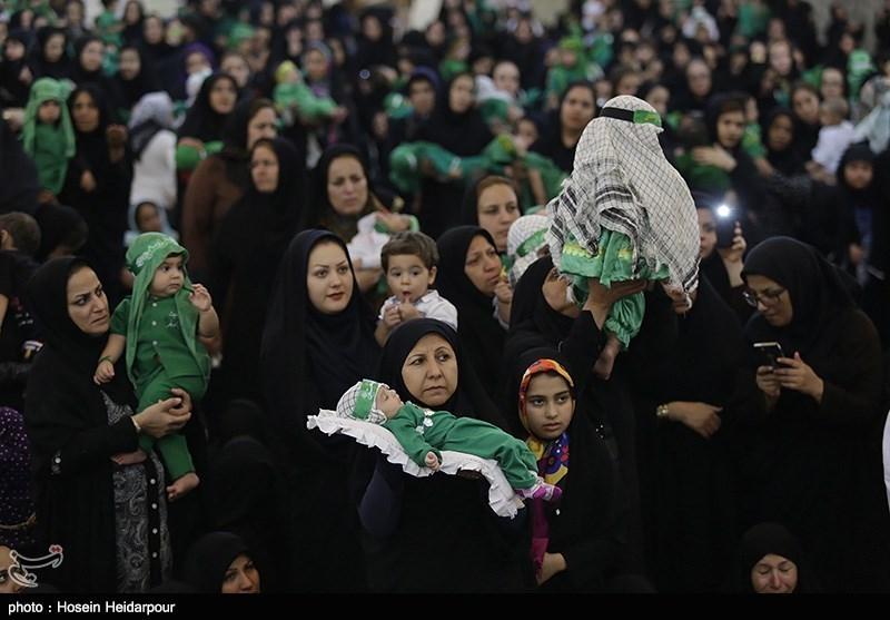 مراسم شیرخوارگان مهدوی - بوشهر