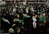 """إحیاء مراسم """"الطفل الرضیع"""" فی مئات المدن داخل وخارج إیران+فیدیو وصور"""