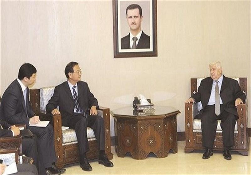 وزیر الخارجیة السوری: روسیا وإیران تساهمان فی دحر الإرهاب