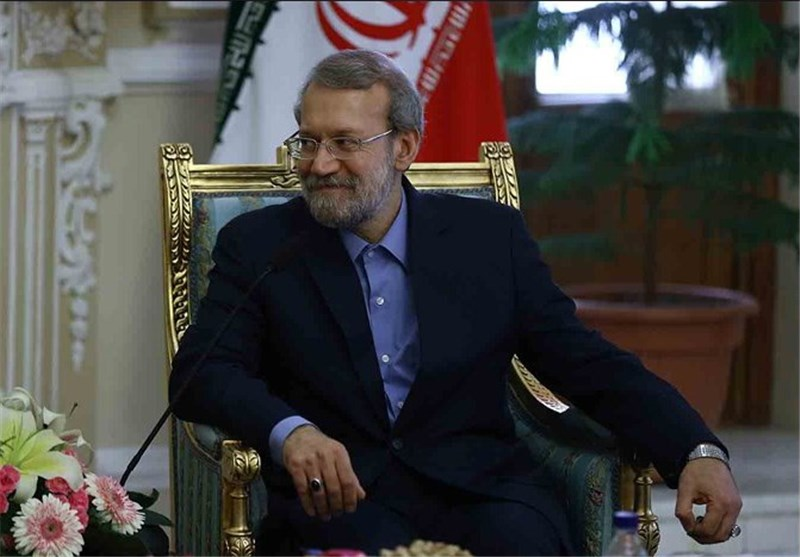 رئیس مجلس الشوری الاسلامی یستقبل رئیس برلمان الاتحاد الاوروبی