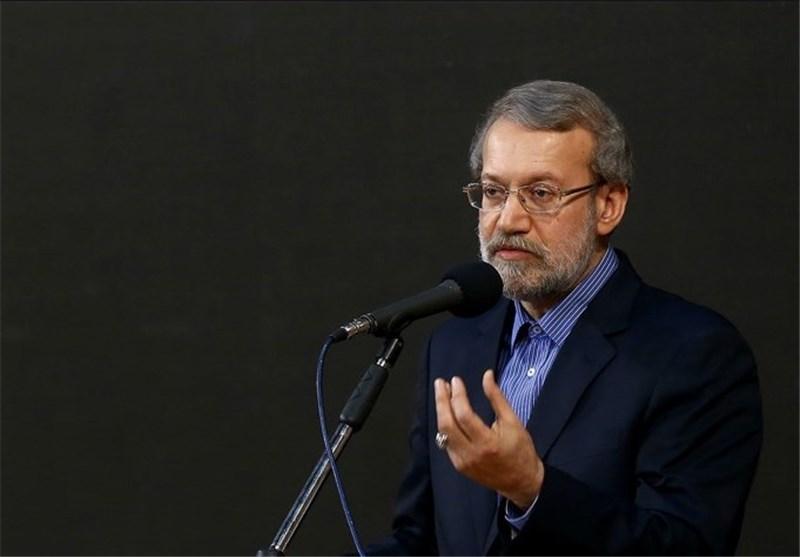 لاریجانی: الاتفاق النووی لایمس التقنیة النوویة السلمیة لایران الاسلامیة