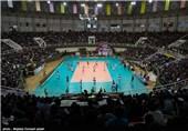 دیدار تیم های والیبال شهرداری ارومیه و بانک سرمایه