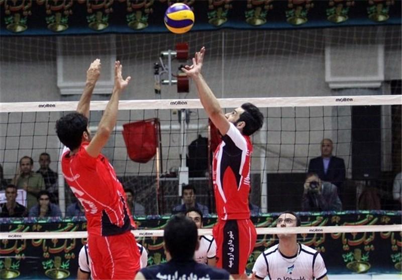 پیروزی شهرداری ارومیه در خانه والیبال