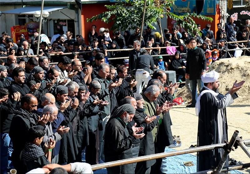 اقامه نماز ظهر تاسوعا در شهرستانهای 17 گانه آذربایجانغربی