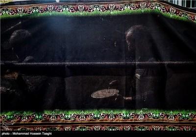 مراسم نخل گردانی و تعزیه خوانی در نوغاب گناباد