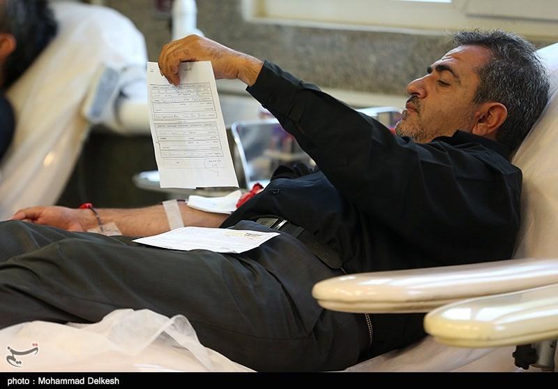 مشکل کمبود گروههای خونی در استان مازندران نداریم