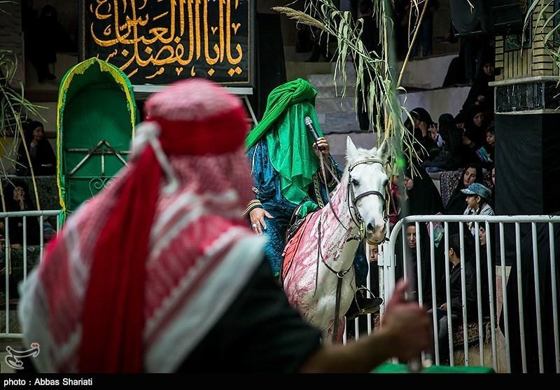 نبرد آلالله در دشت بلا؛ جلوههایی از آئین عزاداری محرم در اردبیل+فیلم