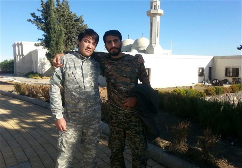 شهدای مدافع حرم , مدافعان حرم , شهید ابراهیم هادی , شهید ,