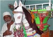مراسم عزاداری عاشورای حسینی (ع) توسط هندوها در پاکستان + تصاویر