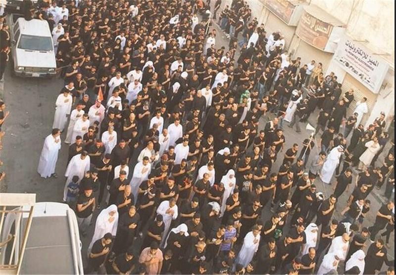 بالصور والفیدیو.. شیعة السعودیة یتحدون الارهاب ویقمون مراسم عاشوراء