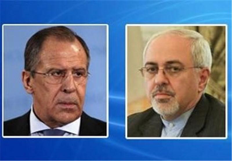 ظریف ولافروف یدعوان لدعم الحوار السوری السوری