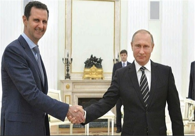 بوتین للأسد : لن نسمح لک بأن تخسر الحرب ..