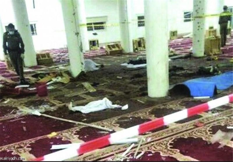 "ضحایا بتفجیر انتحاری استهدف مسجدا فی نجران جنوبی السعودیة.. و""داعش"" یتبنى"