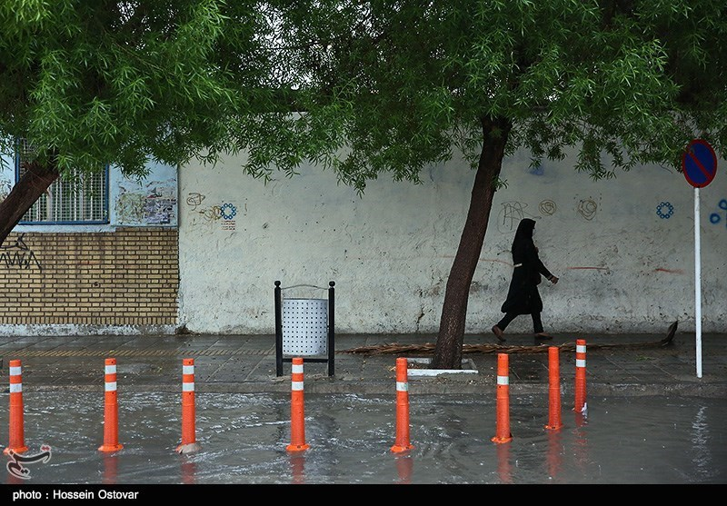 پیش بینی باران 5 روزه در اکثر مناطق کشور/دما 7 درجه خنک میشود