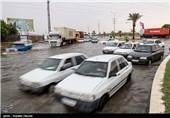 آخرین وضعیت راهها/ بارش باران و برف در جادههای 20 استان/ترافیک سنگین در آزادراه تهران-قم