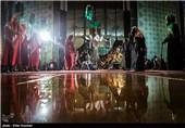 تعزیه اسرای عاشورا در محموطه تئاتر شهر