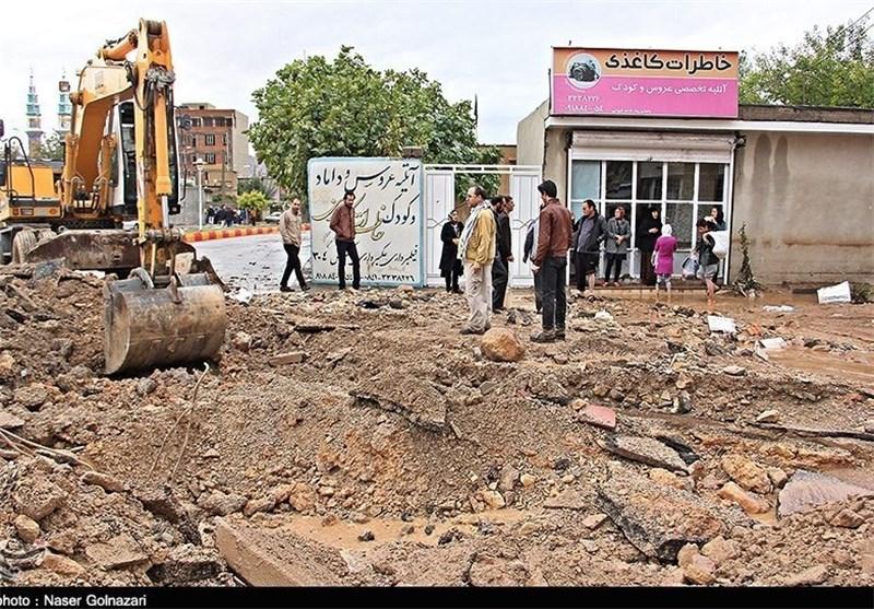 بیشترین خسارت سیلاب در مهران در حوزه راه و کشاورزی است