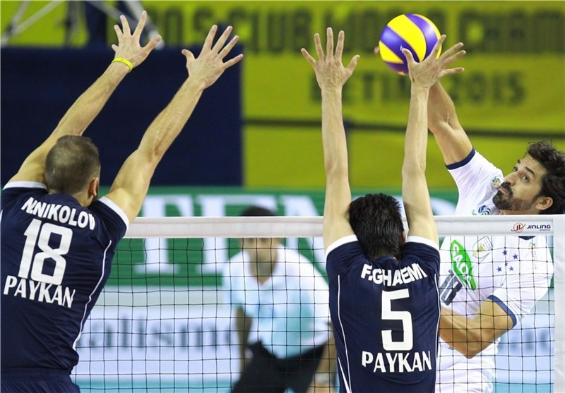Iran's Paykan Loses to Sada Cruzeiro at FIVB Men's Club World Championship