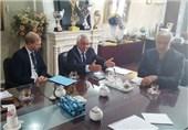 نشست کفاشیان با رئیس افتخاری فدراسیون فوتبال نروژ