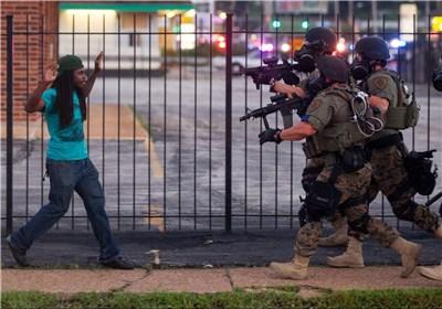 آمریکا؛ کشوری که پلیس هایش مانند سربازان اسرائیل هستند