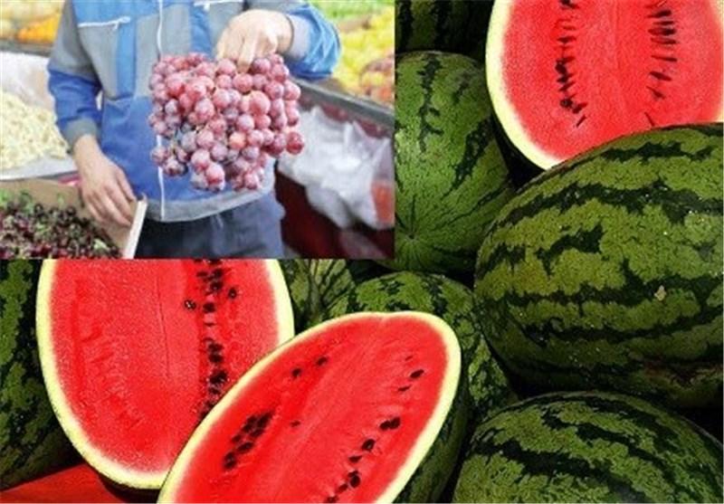 واردات غیرقانونی هندوانه، انگور و کشمش از راه گمرک