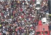 هزاران فلسطینی در الخلیل پیکر 5 شهید را تشییع کردند