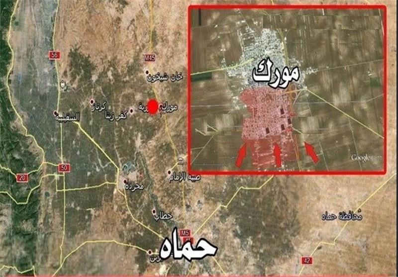 """رمزگشایی از اهمیت اسراتژیک شهر """"مورک"""" در سوریه"""
