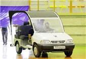 خودروی الکتریکی آدراپانا در همدان رونمایی شد