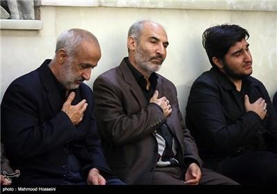 پدران شهیدان امین کریمی و عبدالله باقری