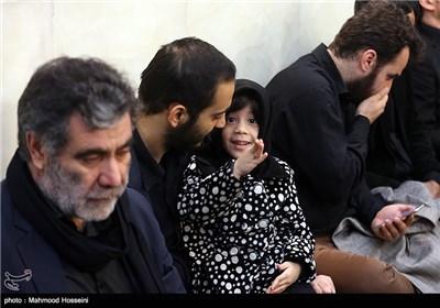دختر شهید مدافع حرم عبدالله باقری