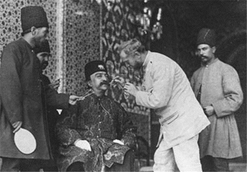 عکس/ دندانپزشک ویژه ناصرالدین شاه