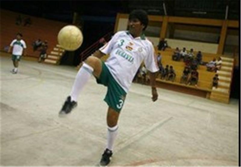 فیلم/فوتبال رئیس جمهور بولیوی