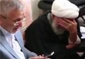 فیلم/روضه خوانی حاج منصور ارضی در محضر آیت الله مظاهری