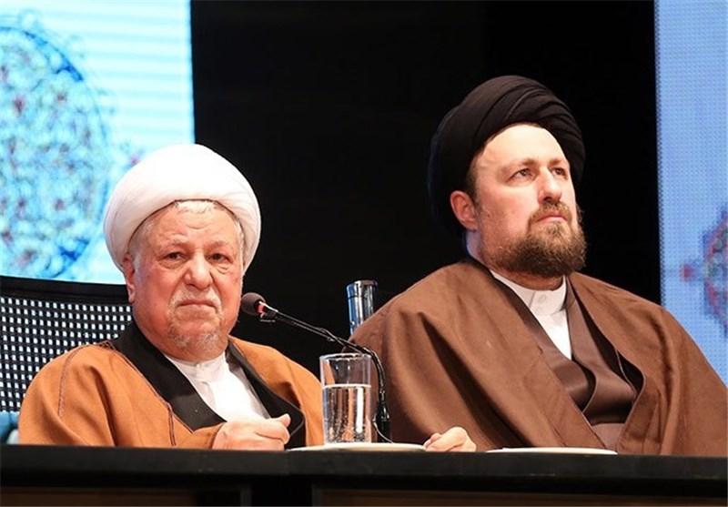 اکبر هاشمی رفسنجانی و سیدحسن خمینی