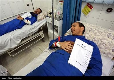 مانور امداد و نجات بیماران در بیمارستان - مشهد