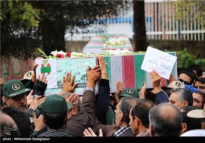 تشییع دو شهید گمنام در بیرجند - خراسان جنوبی