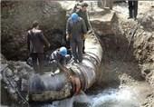 نشتی شبکه آب