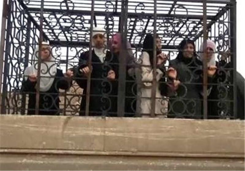 إرهابیو آل سعود فی سوریا یستخدمون الأسری دروعًا بشریة