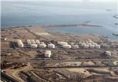 محطة لتزوید السفن بالوقود فی جزیرة قشم الایرانیة