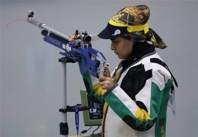 نجمه خدمتی: امیدوارم بهترین نتیجه را در المپیک ۲۰۲۰ توکیو کسب کنم