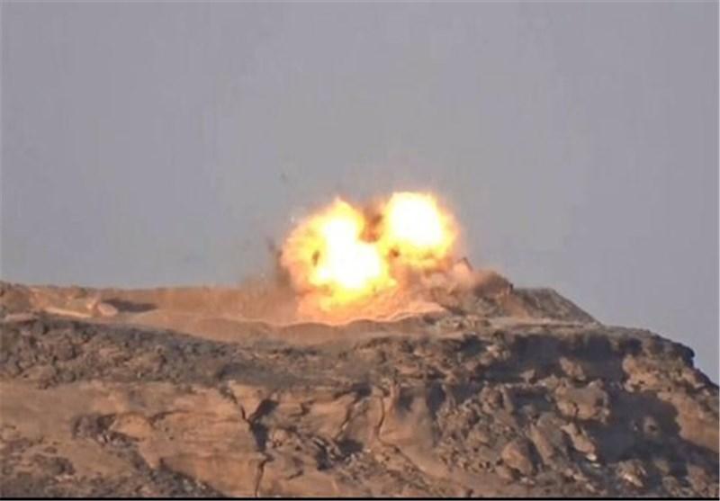 انهدام زرهیهای ارتش آلسعود در نجران + تصاویر
