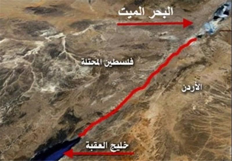 """وزیر الداخلیة الصهیونی : استکملنا مع الأردن شروط حفر قناة """"البحرین"""""""