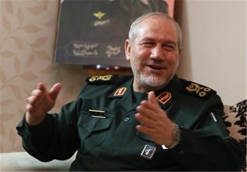 اللواء صفوی : الجبهة السوریة هی جبهة دولیة - اسلامیة ضد الصهیونیة وامریکا
