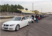 مسابقه اتومبیلرانی در قم برگزار شد