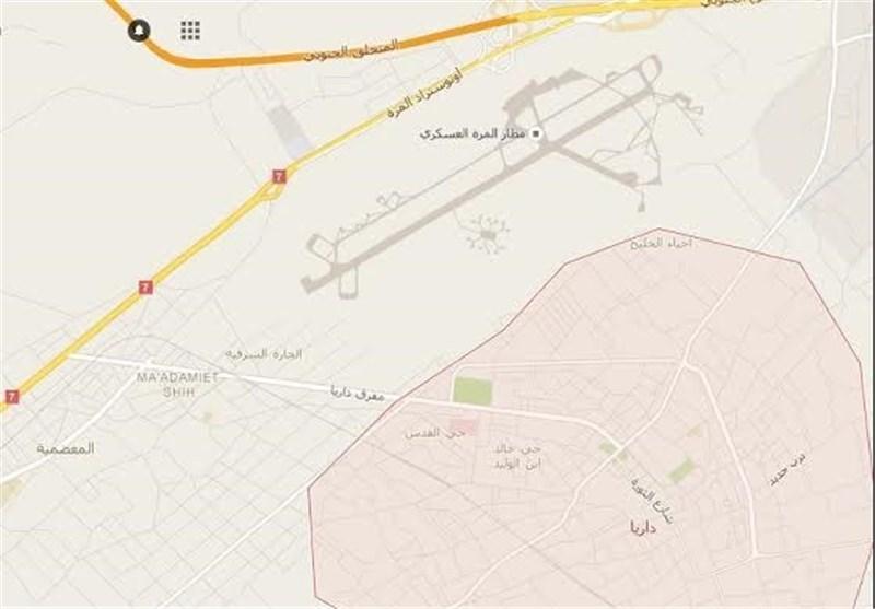"""تفاصیل هجوم """"اسرائیل"""" الصاروخی على محیط مطار المزة غرب دمشق"""