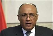 وزیر خارجه مصر: فلسطین همچنان مسئله مهم منطقه است