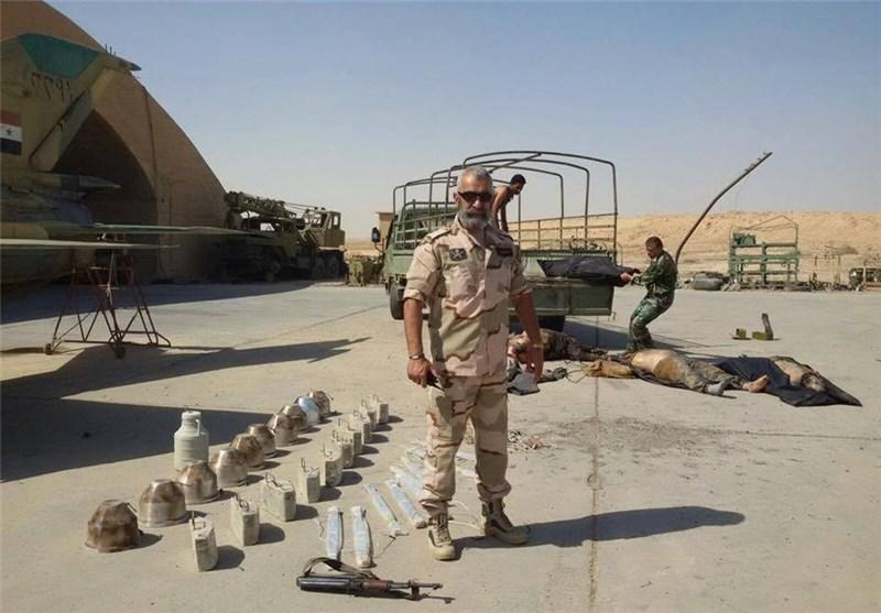 ارتش سوریه بار دیگر حمله شدید داعش به فرودگاه دیرالزور را دفع کرد