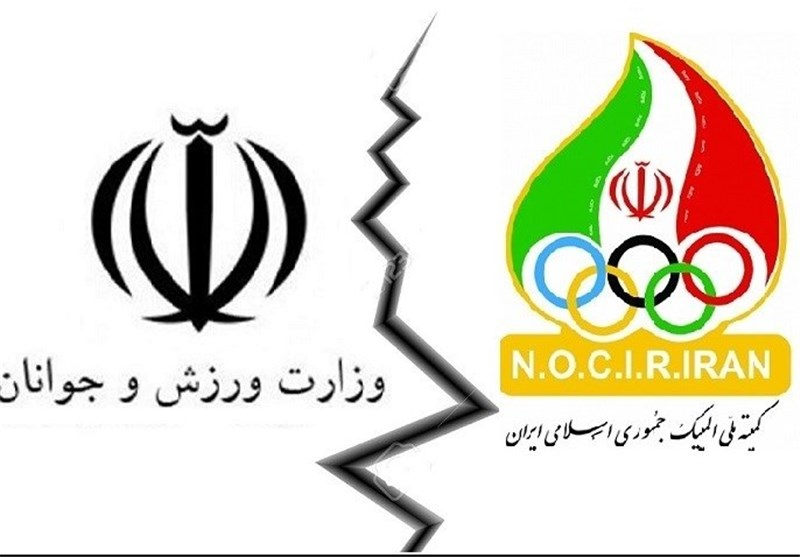 کمیته ملی المپیک+ وزارت ورزش و جوانان