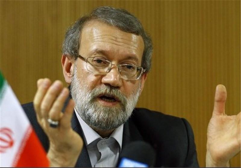 لاریجانی : بعض دول المنطقة تحاول اعادة امبراطوریتها السابقة .. لکن دون جدوی