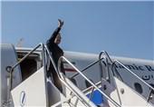 علی لاریجانی سفر هواپیما